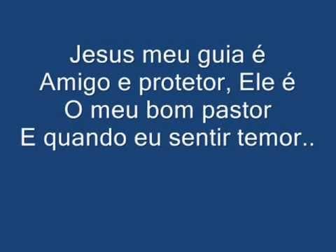 jesus meu guia é amigo e protetor