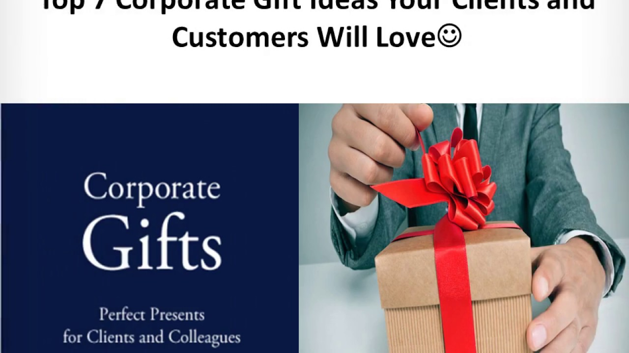 Promotional : The Best 7 Unique Corporate Gifts in india PPT