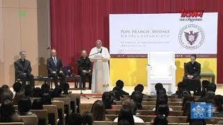 Podróż Franciszka do Japonii: Wizyta na Uniwersytecie Sophia