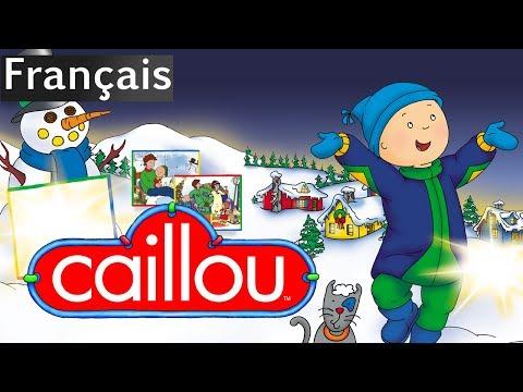 Caillou: Vive les Fêtes  Film Complet en Français  conte pour ent  Caillou en Français