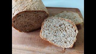 Мой простой рецепт хлеба на скорую руку Домашний цельнозерновой хлеб без заморочек