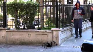 Fail ARS Big Spider Attack In The City