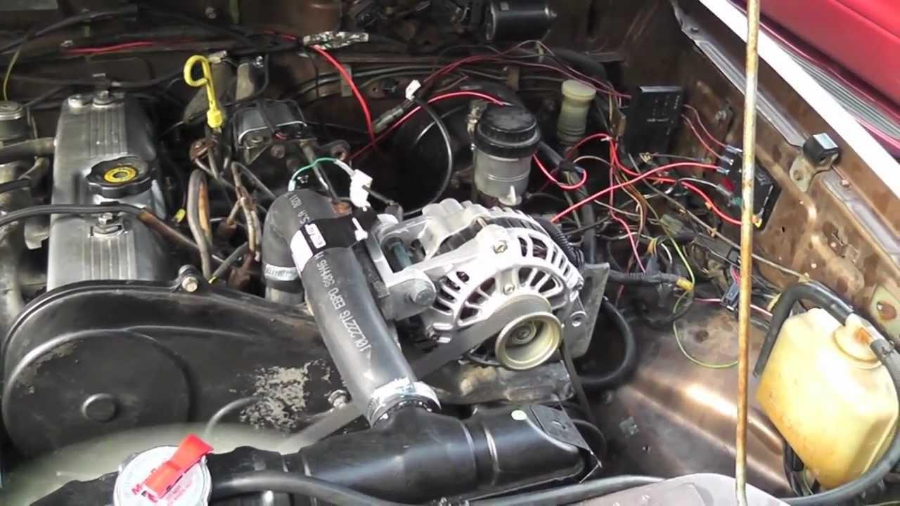 Chevrolet Starter Wiring Diagram Montero Diesel Conversion First Drive Youtube