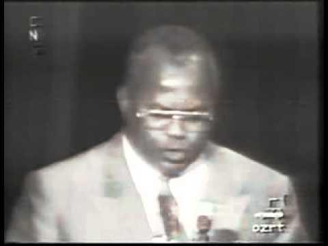 Muya Ilunga Albert - Discours programme de Etienne Tshisekedi à la CNS 1992.