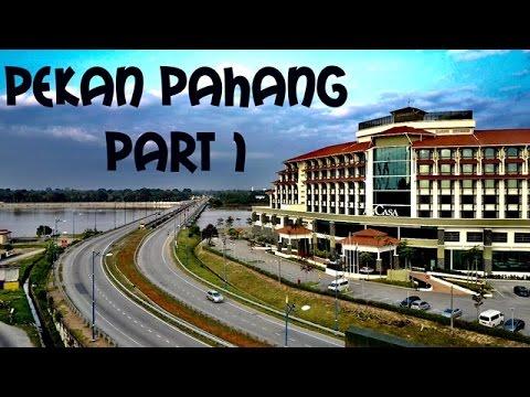 Mavic Pro over Pekan Pahang Malaysia | Visit Pahang 2017 | Part 1 Pekan Pahang by drone