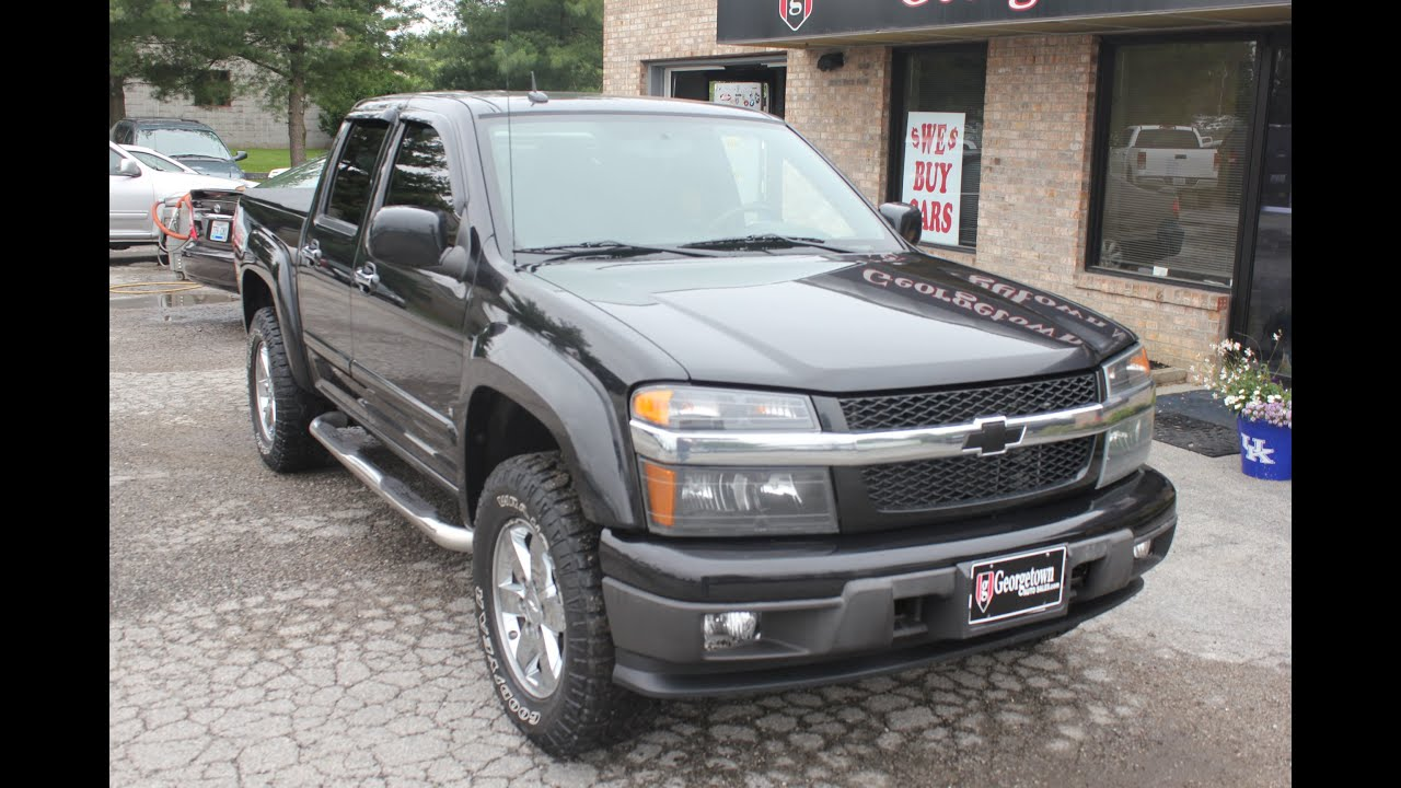 used 2009 chevrolet colorado z71 4x4 for sale georgetown auto sales ky youtube. Black Bedroom Furniture Sets. Home Design Ideas
