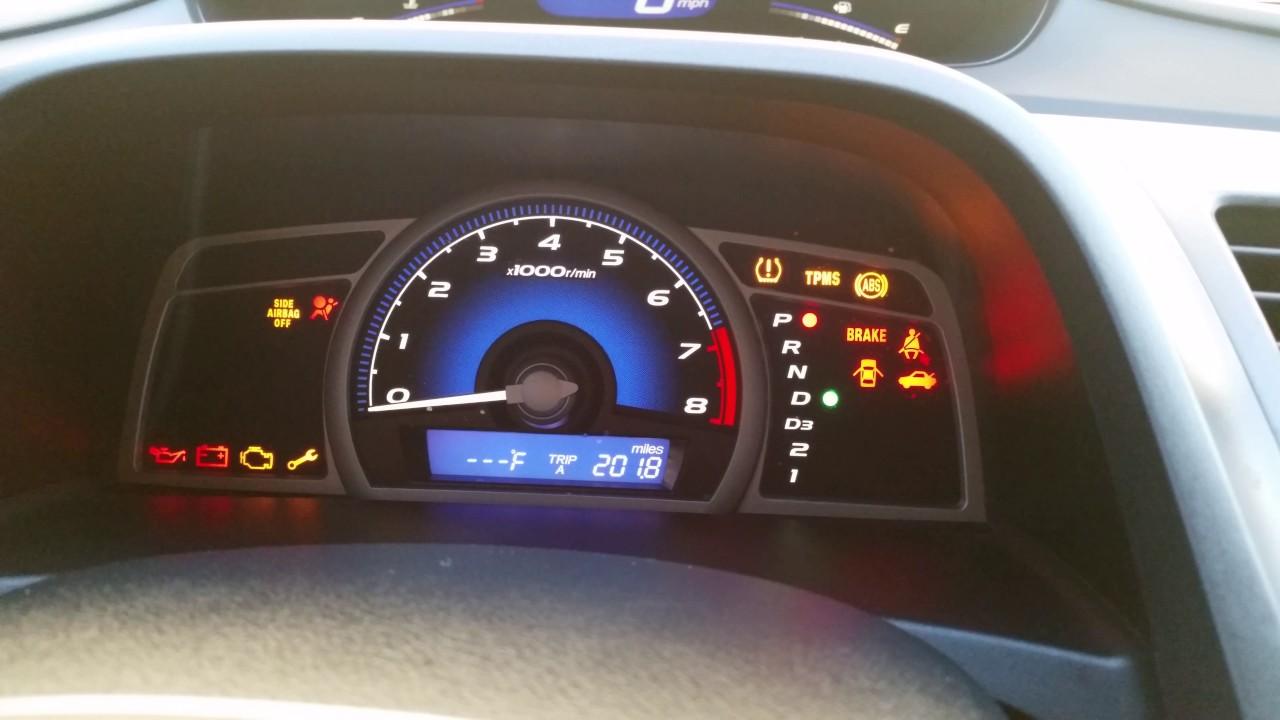 2008 Honda Civic Starter Problem  8th Gen