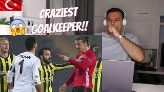 Italian Reaction 🇹🇷 Craziest Goalkeeper - Volkan Demirel 😱😱😱
