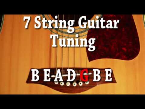 7 string guitar tuning b e a d g b e