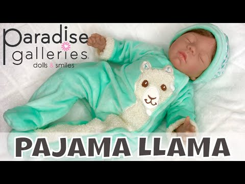 "😴paradise-galleries-""pajama-llama""-baby-doll-review-&-changing-into-a-new-outfit!👚"