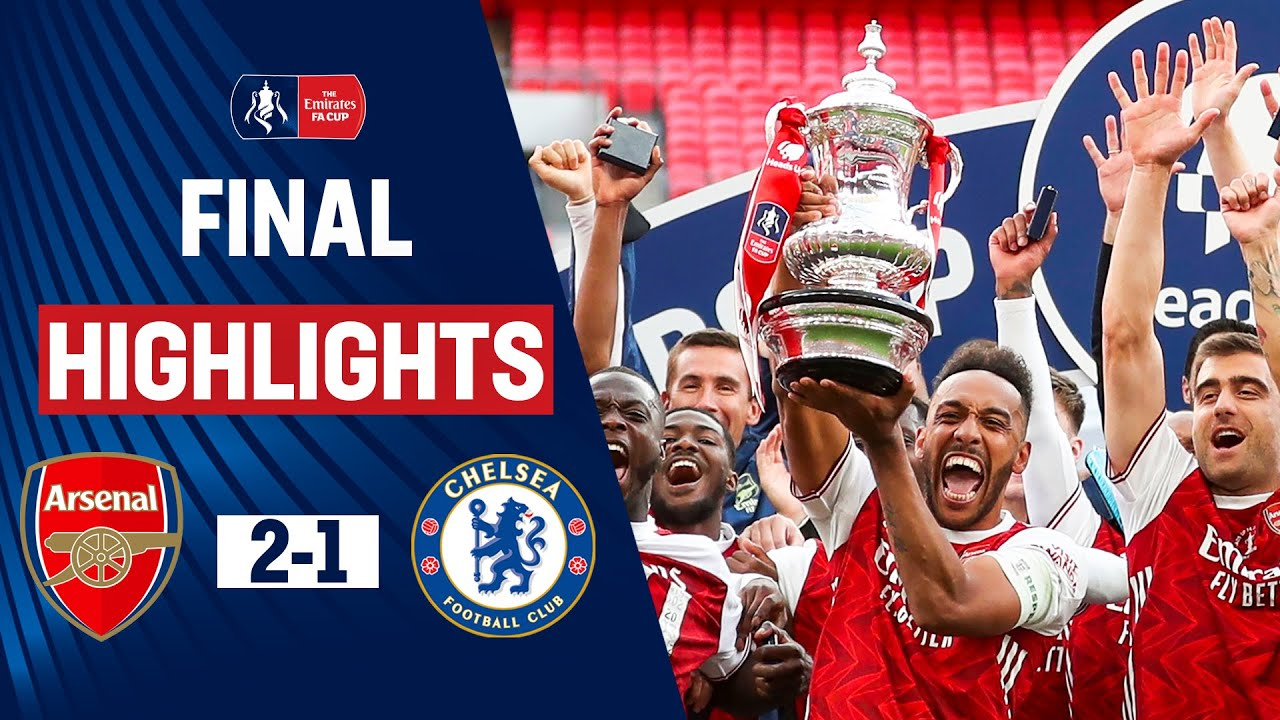 Aubameyang & Arteta Lead Arsenal to FA Cup Glory | Arsenal 2-1 Chelsea | FA Cup Final 19/20