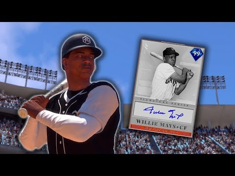 99 Willie Mays Debut! Signature Series! MLB The Show 19 Diamond Dynasty