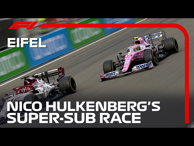 Nico Hulkenberg's Super Sub Race | 2020 Eifel Grand Prix