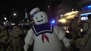 Village Halloween Parade~2018~NYC~Ghostbuster Chase Away Ghosts~NYCParadelife