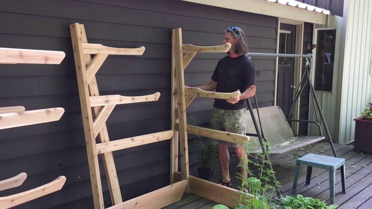 Wood Storage Rack Outdoor