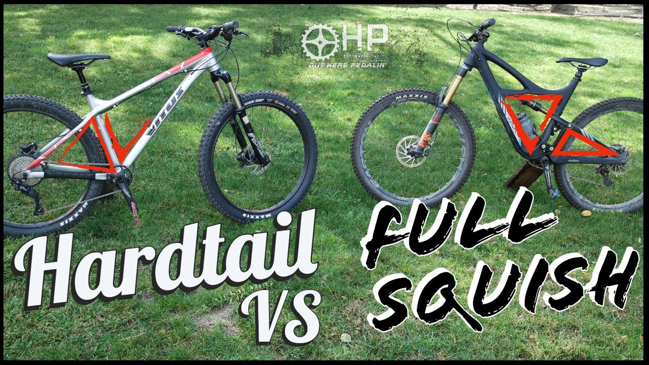 Should I Buy A Hardtail or Full Suspension Mountain Bike?