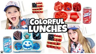 KIDS CHOICE Lunches (Red White & Blue) + LEMON Cheese?!