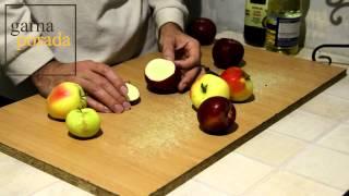 Как правильно кушать яблоки