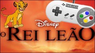 O Rei Leão - Um clássico do cinema e dos games!