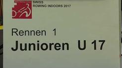 Swiss Rowing Indoors Zug, 28.1.2017 - Rennen