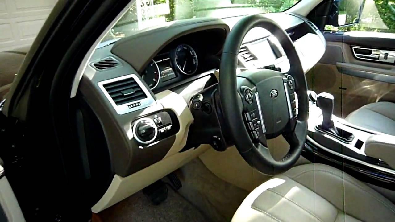 2010 range rover sport interior youtube for Range rover sport interior lighting
