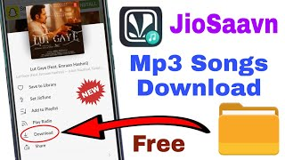 How to Download JioSaavn Mp3 Songs in Sd Card / JioSaavn ka mp3 songs download kaise kare
