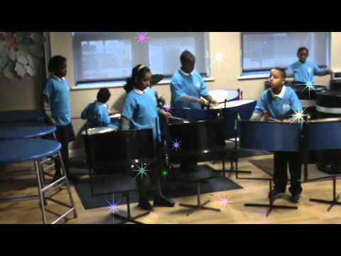 steel pans ! music performed by childrens divine mercy school manchester