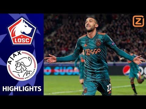 TANDEM ZIYECH & PROMES BELANGRIJK ✨ | Lille vs Ajax | Champions League 2019/20 |
