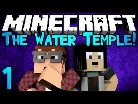 Minecraft: The Water Temple! Ep1 w/ MunchingBrotato