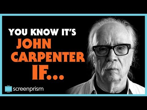 Halloween: You Know It's John Carpenter IF...