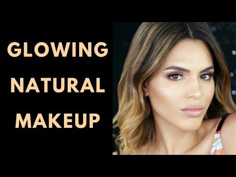 GLOWING NATURAL MAKEUP TUTORIAL | ZAREEN SHAH thumbnail