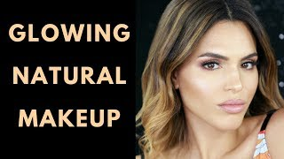 GLOWING NATURAL MAKEUP TUTORIAL | ZAREEN SHAH