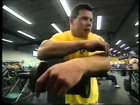 Jouko Ahola in the gym 1997