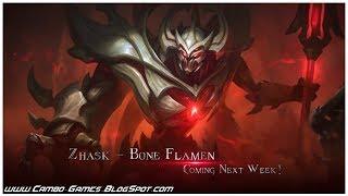 Mobile Legends Bang Bang 5v5! New Skin - Bone Flamen (Zhask) Gameplay Android/iOS