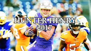 Hunter Henry 2017 Highlights
