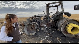 Local Farmers Help Family with Burned Equipment