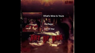 Ōji Rage - What's Mine Is Yours