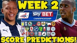 My Championship Week 2 Score Predictions! What Will Happen This Weekend?!