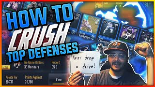 HOW TO CONSISTENTLY CRUSH TOP MADDEN OVERDRIVE DEFENSES IN LVL!