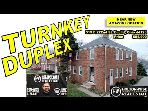 Real Estate Investing just got easier with this Turnkey Duplex; 519 E 222nd Euclid, Ohio