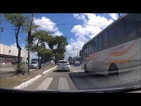 Recife - PE:  Da praia de Boa Viagem até  Pau D'Alho   Pernambuco