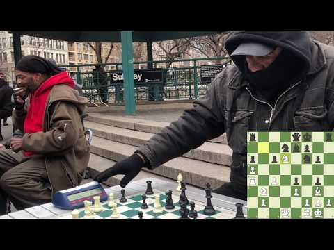 $3 Game with Chess Hustler  NYC Chess Hustling