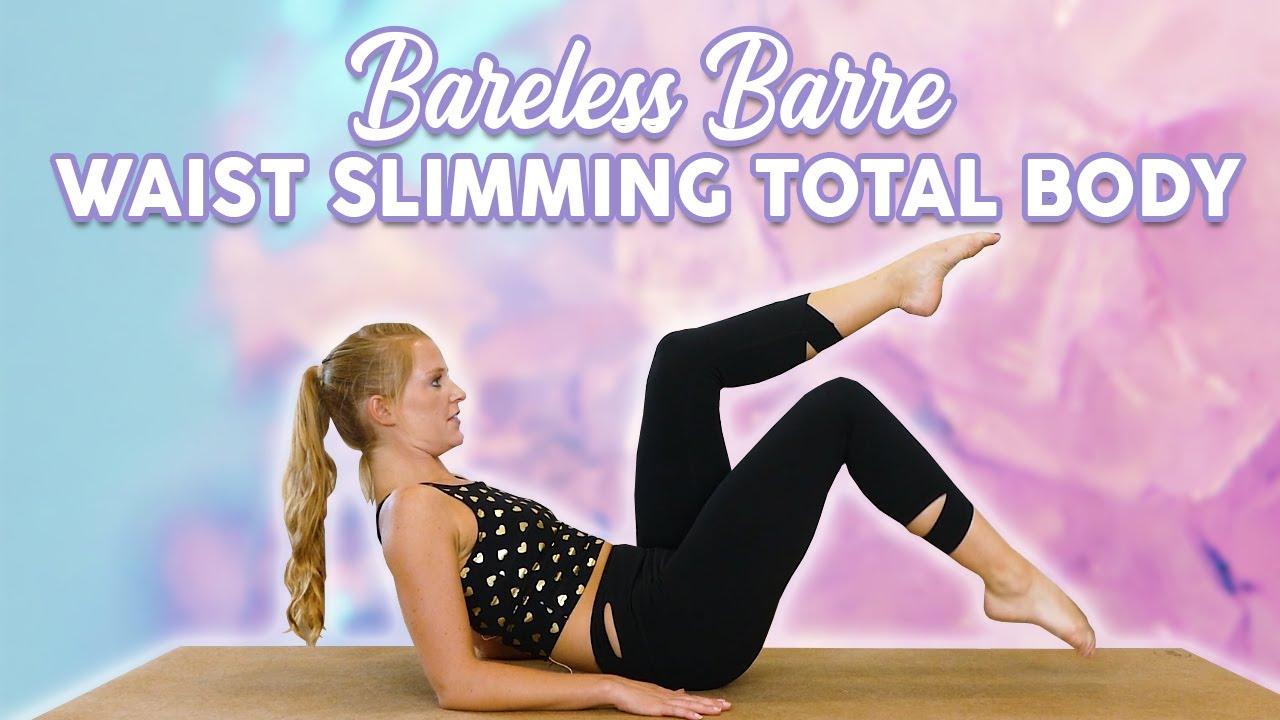 Waist-Slimming Cardio Workout ♥ Lower Belly & Obliques, Full Body Fat-Burning Barre Ballet, 30 M