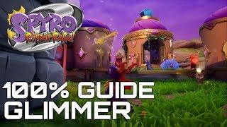 Spyro 2 Ripto's Rage (Reignited) 100% Guide GLIMMER (ALL ORBS, GEMS...)