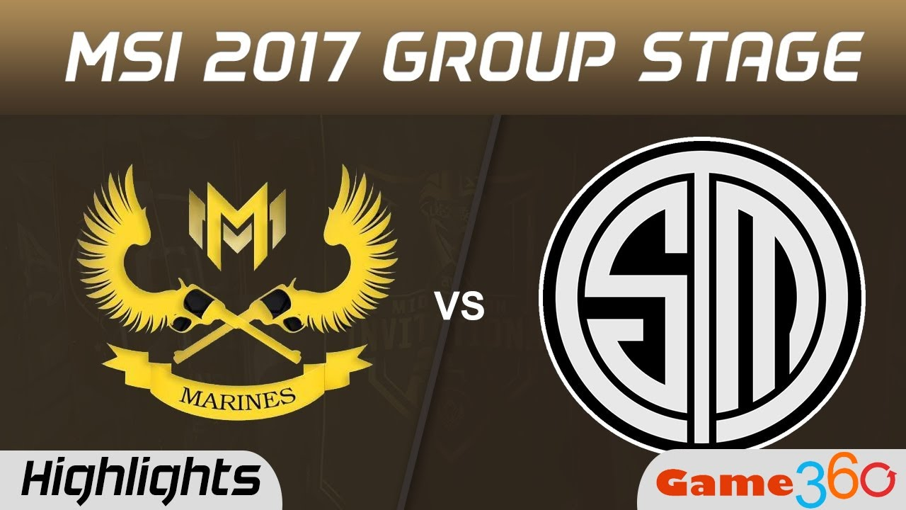 Highlight GAM vs TSM - MSI 2017 [11-05-2017]