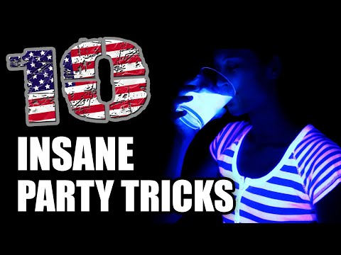 Thumbnail: 10 Insane Tricks, for Summer Parties!