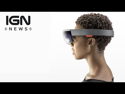 "Microsoft's HoloLens Inventor Thinks ""The Phone Is Already Dead"" - IGN News"