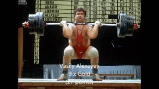 Best Weightlifters of the 1970s
