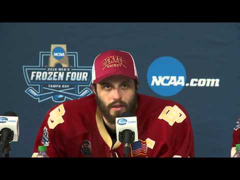 Frozen Four: North Dakota vs. Denver Postgame Press Conference