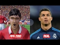 Cristiano Ronaldo Face Change In FIFA 2000 to FIFA 17 vs Real Face (Over The Years)